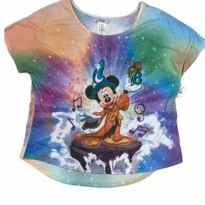 Walt Disney world Fantasia Mickey Mouse top. 2XL